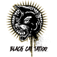 Black Cat Tattoo